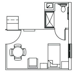 Van Wert Assisted Living Floor Plan